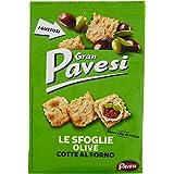Gran Pavesi Cracker Le Sfoglie alle Olive, 160 gr