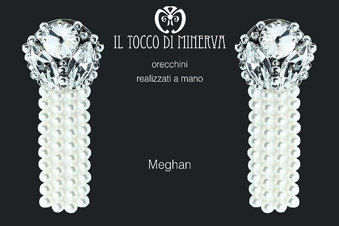 Regali Di Natale Swarovski.Orecchini Swarovski Meghan Realizzati A Mano Made In Italy