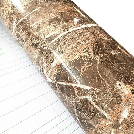Wdragon Film Adhesif Papier Peint Brillant Pour Plan De Travail De Cuisine En Vinyle Imprime Marbre Blanc Gris 61 X 200 7 Cm Amazon Fr Cuisine Maison