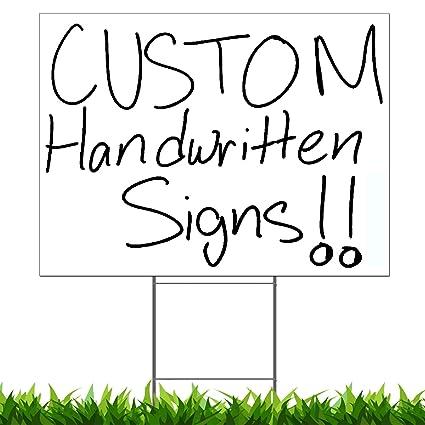 Amazon.com: Vibe Ink - Señales de vendaje personalizados ...