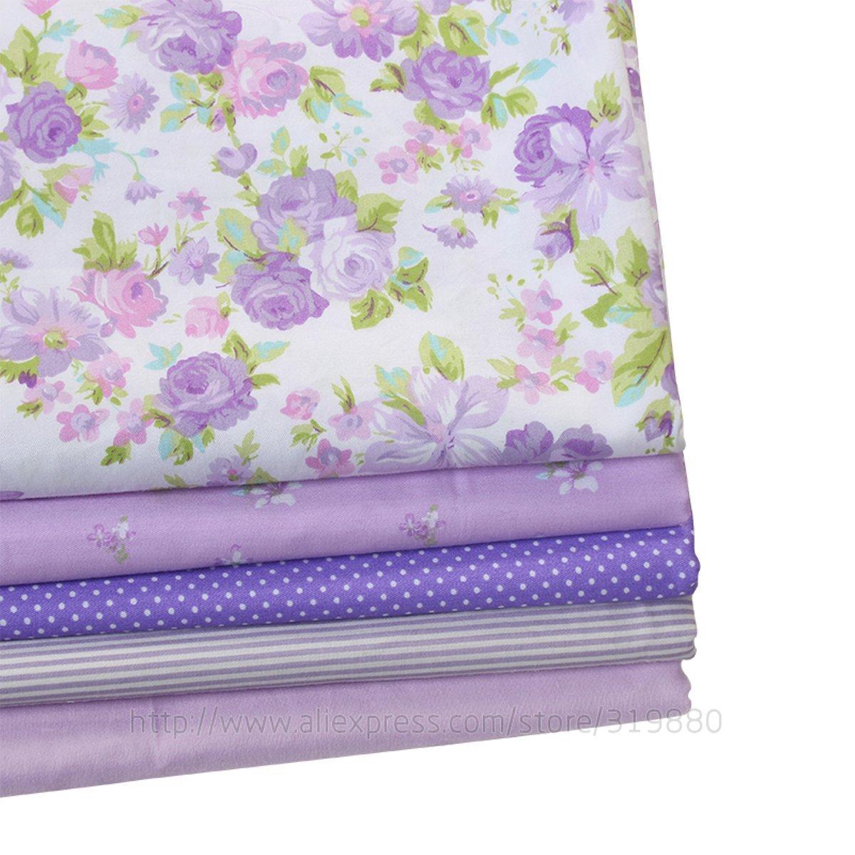 TACOLI - Juego de tela de costura - 5 piezas 40 cm 50 cm ...