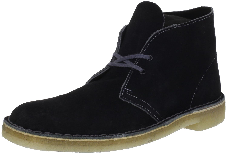 Black Grey Clarks Originals Men's Desert Boot
