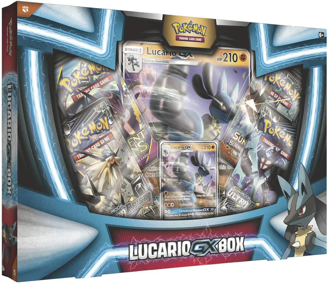 Pokemon 290-80369 Lucario Gx Box: Amazon.es: Juguetes y juegos