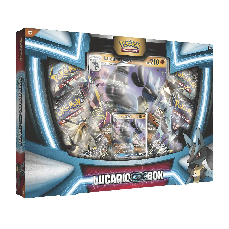 Pokemon TCG: Lucario Gx Box - 4 Booster Pack + A Foil Promo Card by Pokemon