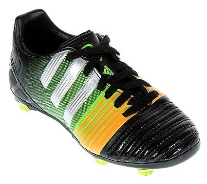 Adidas Nitrocharge 3.0 SG J, Schwarz - Orange - grün