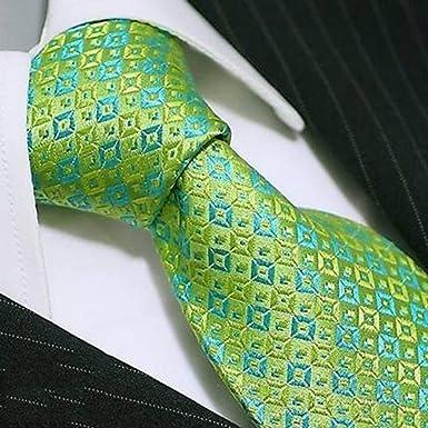 MENEDERQ Traje de seda de seda para hombres y mujeres, verde ...