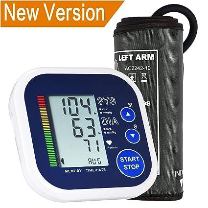 Tensiómetro electrónico de brazo 2017, lismile – Tensiómetro Tensiómetro automático sangre Medición de presión eléctrica