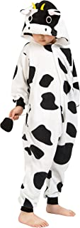 BELIFECOS Childrens Cow Costumes Onesies Kids Cosplay Homewear Pajamas  sc 1 st  Amazon.com & Amazon.com: Cow Costume for kids. One Size 3-9 Years.: Toys u0026 Games