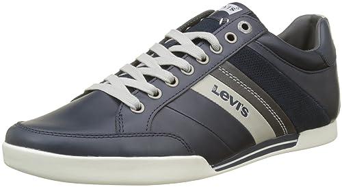 Levi'S Baylor, Zapatillas para Hombre, Negro (Black), 46 EU