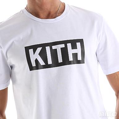fd10ea3c49354f Kith Men's plain T-Shirt: Amazon.co.uk: Clothing