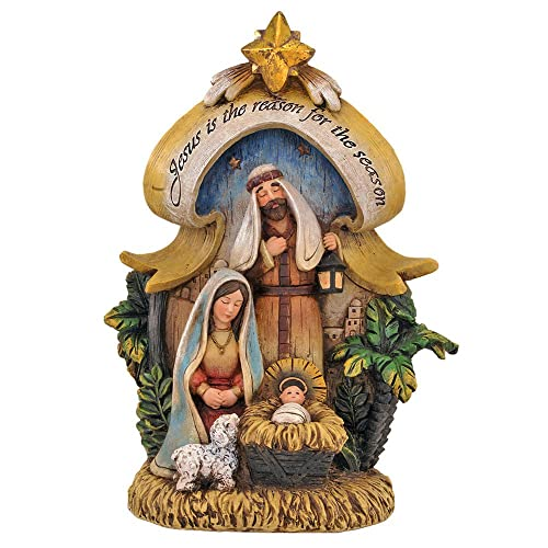 Religious Gifts Jesus is The Reason Nativity of Christ 12 1 2-inch Christmas Figurine