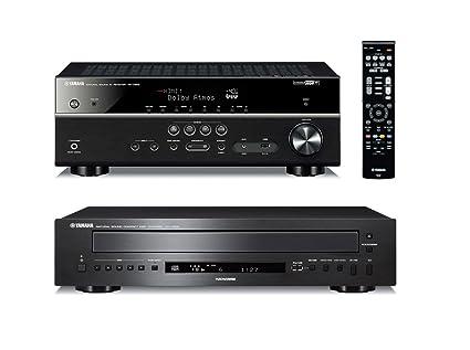 Amazoncom Yamaha Rx V583bl 72 Channel 4k Ultra Hd
