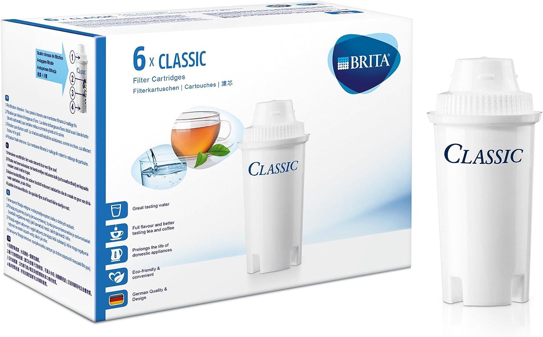 BRITA Classic - Filtro para Agua (6 Unidades): Amazon.es: Hogar