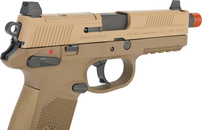 Evike Cybergun Fn Herstal Licensed Fnx 45 Tactical Airsoft Gas Blowback Pistol By Vfc Guns Rifles Airsoft Guns Accessories
