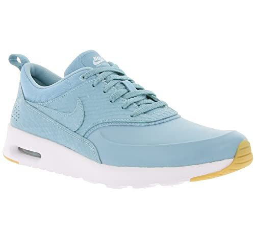 discount ea710 ae808 Nike Air Max Thea Premium Womens Trainers Blue - 5 UK