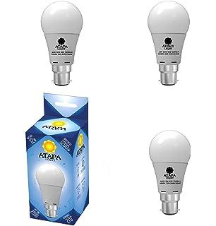 ATAPA 3 X A60 B22 LED Lampe 12 Watt Ersetzt 80W 1200 Lumen Mit 270