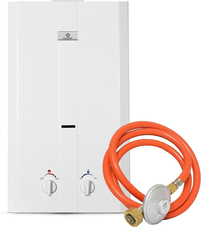 Eccotemp CEL10-50 Chauffe-eau portable ext/érieur sans r/éservoir 50 mbar blanc