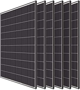 Renogy 6pcs 320 Watt Monocrystalline Solar Panel System Kit Off Grid for Shed Farm, Home, Residential, Commercial House, 320W, 6 Pieces