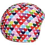 Cool Casc Funda universal de casco - Corazones Colores
