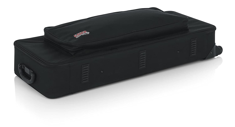 espuma de poliestireno, ligera, con ruedas Funda para teclados peque/ños de hasta 76 teclas Gator