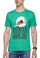 WYO Men's Graphic Printed T-Shirt ( Duniya Chand Par T-Shirt )