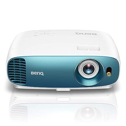 BenQ TK800 - Proyector DLP 3D (4K UHD, 3840 x 2160 Pixels, HDR, 92% Rec. 709, 3000 ANSI Lumens, Modo Deporte, Contraste 10.000:1, HDMI) Blanco