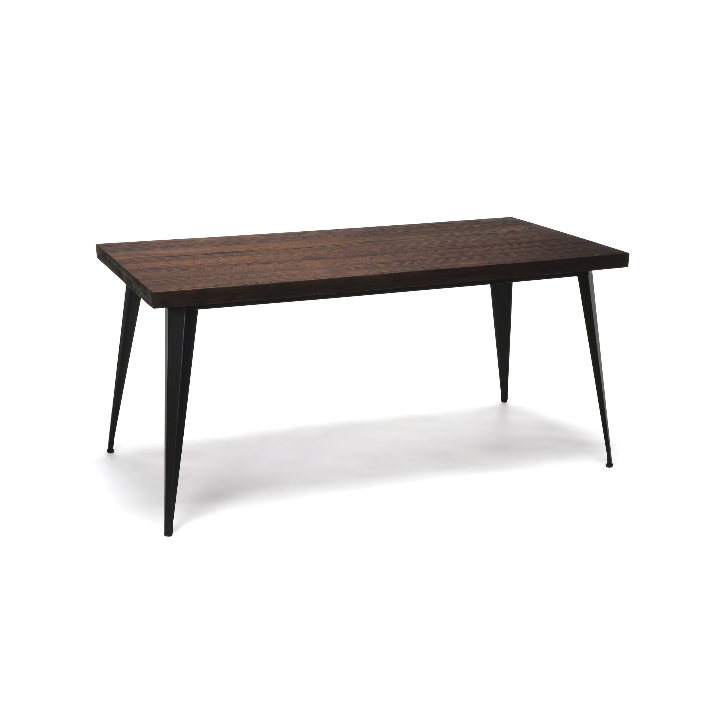 OFM Edge Series 62'' Modern Wood Desk - Walnut by OFM (Image #1)
