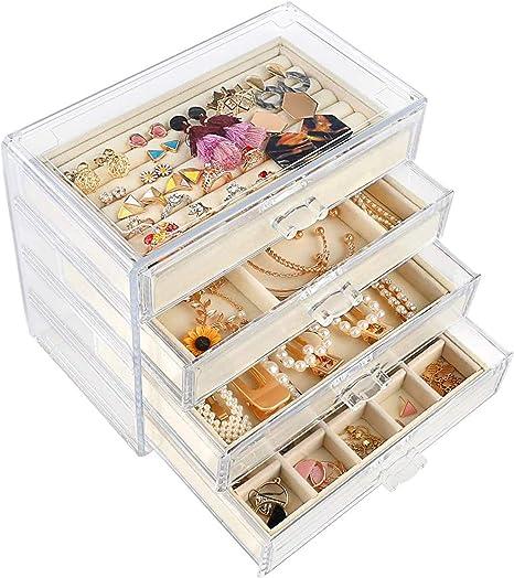jewelry storage case necklace organizer box,ring storage case Jewelry organizer box