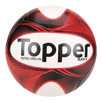 Bola Futebol Futsal Topper Slick Ii  Amazon.com.br  Esportes e Aventura 44b6c573e0aa3
