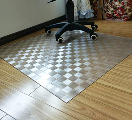 Amazon Non Slip Transparent Mat Plastic Flooring Mat Wood Floor