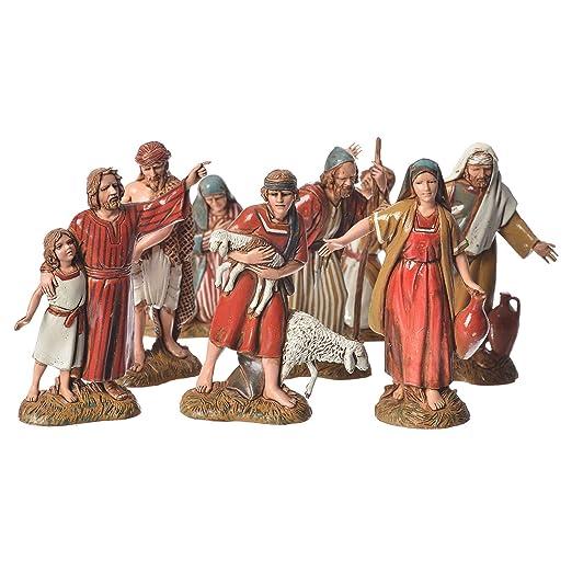 Holyart Pastores con Trajes de época 10 cm 8 Figuras ...