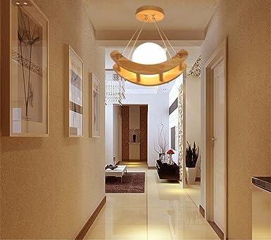 Moderne minimalistische Flur Deckenleuchten Holz ...