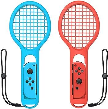 ZYBC Raqueta De Tenis para Nintendo Switch Joy-con Controller Mario Tennis Aces Accesorios para Juegos Paquete De 2 (01): Amazon.es: Deportes y aire libre