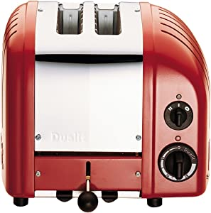 Dualit Classic 2-Slice Toaster, Red