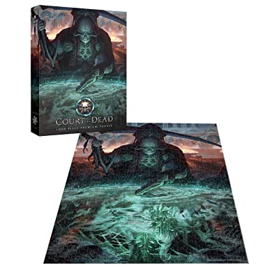 USAopoly Court of The Dead 1, 000Piece Puzzle: Toys & Games