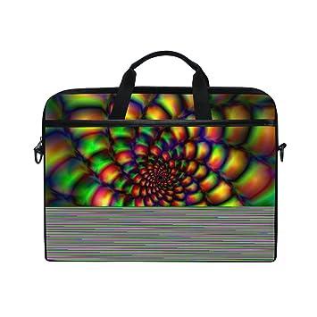 JSTEL - Bolso bandolera para ordenador portátil de 14 a 15,6 pulgadas con correa ajustable para el hombro: Amazon.es: Electrónica