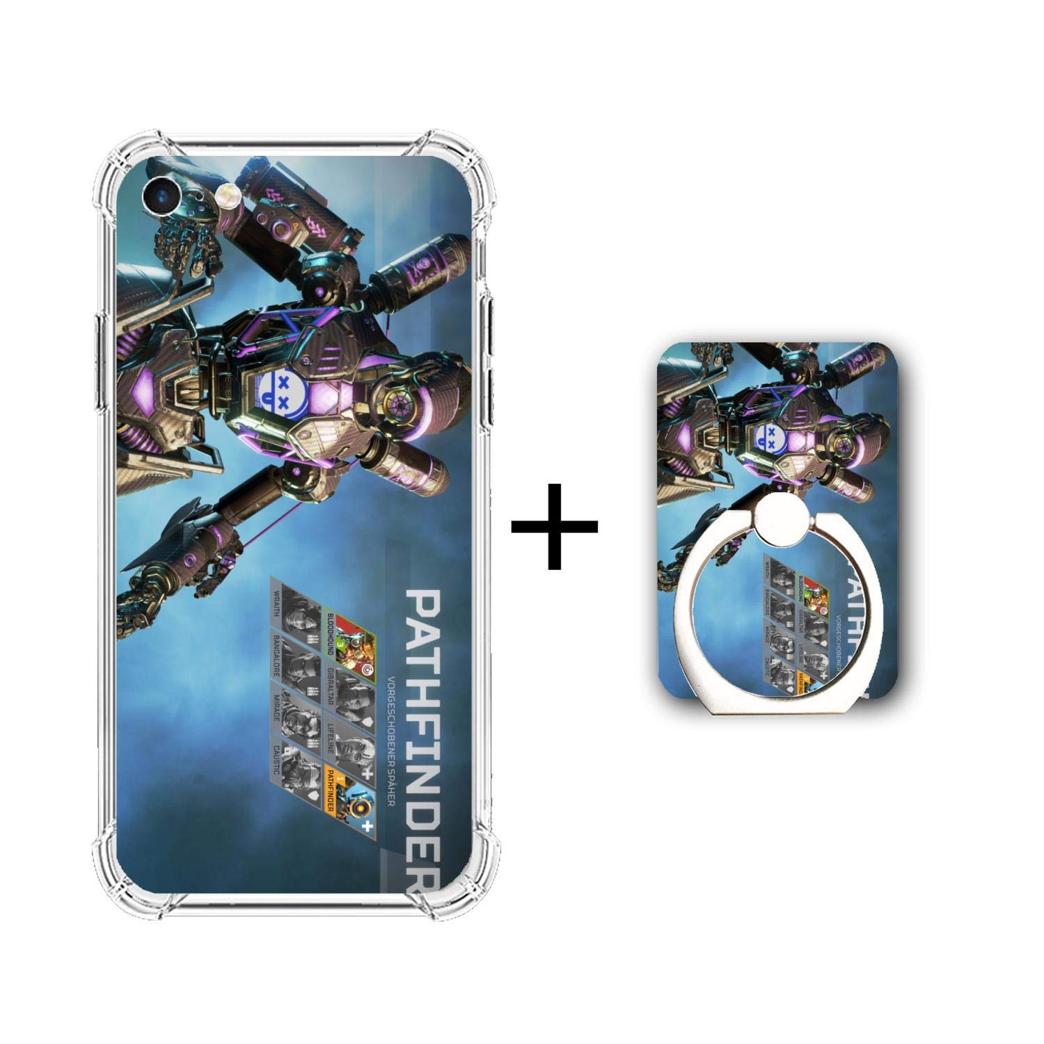 Amazon.com: Apex Legends-Phone Case for iPhone 6/6s, Crystal ...