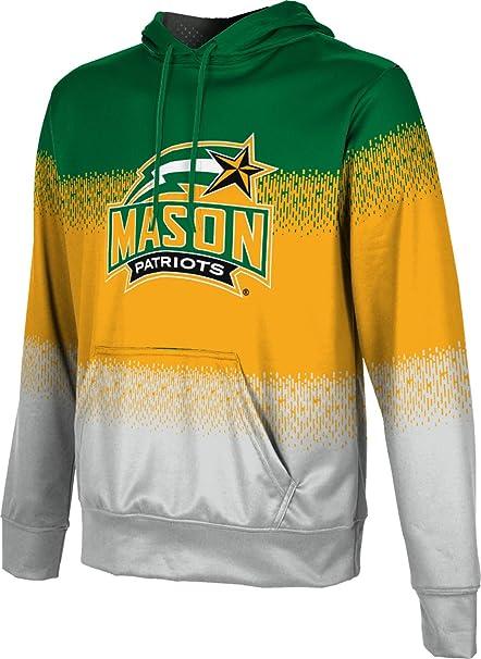 School Spirit Sweatshirt George Mason University Mens Pullover Hoodie Brushed