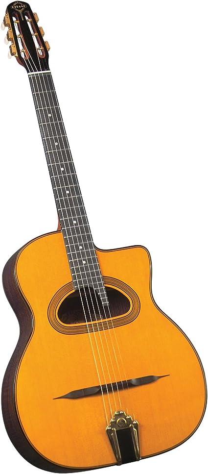 Gitane Gypsy Jazz Guitars D-500 - Guitarra acústica con cuerdas ...