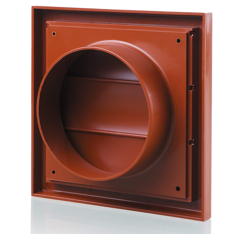 Blauberg UK 12,7/cm 125/mm Conduit rond Plastique et fixations pour extracteur dair Ventilation/ /Duct Coupler/ /125/mm