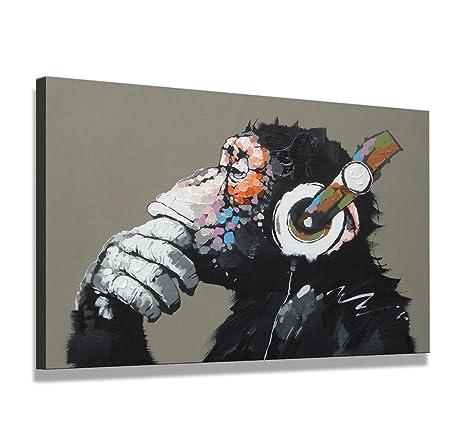 Bilder auf Leinwand New York 80cm XXL 4008 neu Alle Wandbilder fertig gerahmt