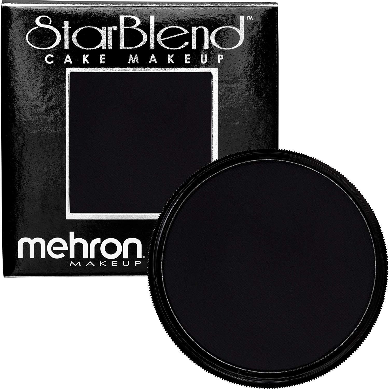 Mehron Makeup StarBlend Cake (2 oz) (Black)