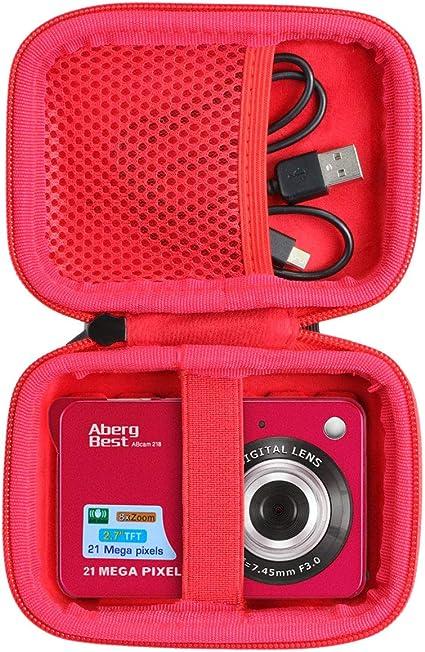Co2crea Hart Tasche Für Abergbest 21 Megapixel 2 7 Kamera