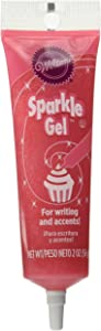 Wilton Pink Sparkle Gel Icing Dispenser
