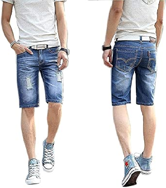 Verticals Men's Denim Shorts (denimrugged-Shorts) Men at amazon