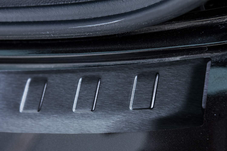 tuning-art L246 Protection de seuil de Coffre de chargementavec Profil 3D et Rebord