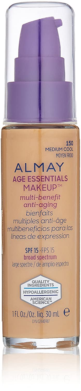 Almay Age Essentials Makeup, Medium Cool Revlon Consumer Products Corp.