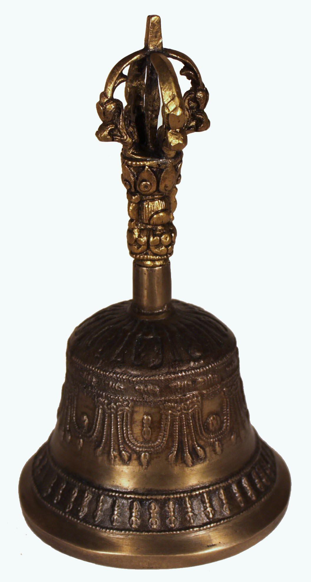 Antique Bell / Tibetan Meditation Bell / Tibetan / Multi-Layered Harmonics / Meditation Tool by Tibetan (Image #4)