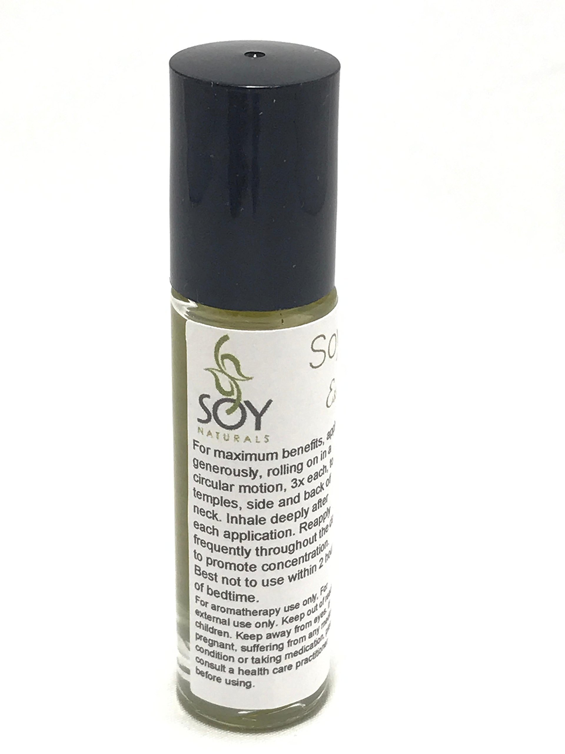 Immune Essential Oil Immunity Boosting Blend, Immune Roll On Blend, 10ml - 1/3oz by Soy Naturals by Soy Naturals Aromatherapy