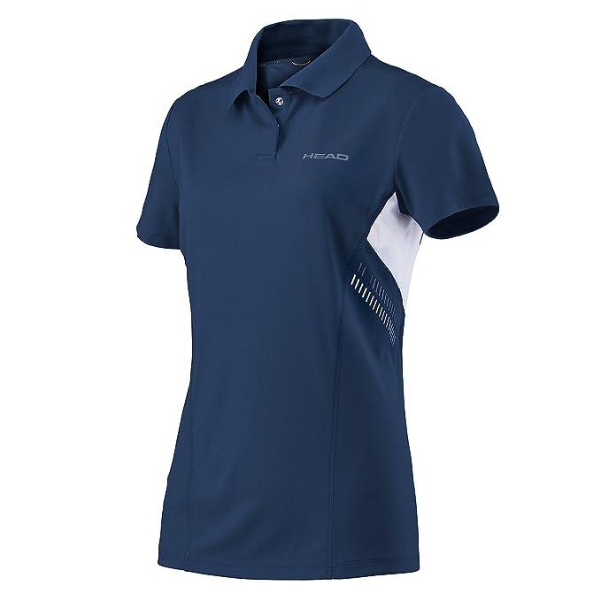 Head - Camiseta técnica Tipo Polo, para Mujer: Amazon.es: Deportes ...